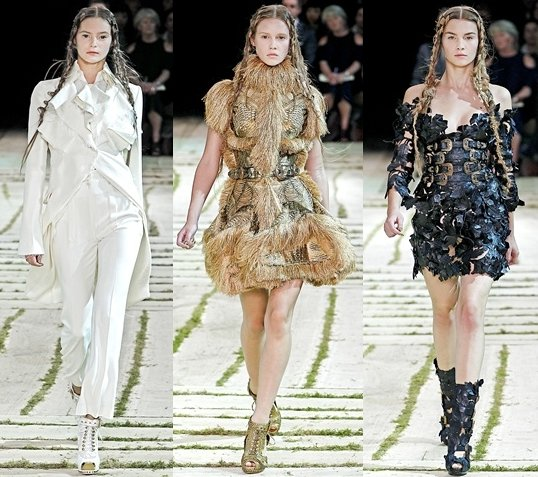Looks from the catwalk