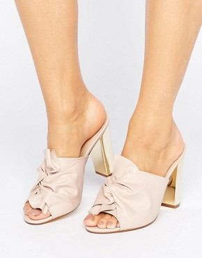 Office Spice Knot Heeled Mules £65.00